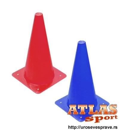 Plastični sportski čunjevi visine 30cm ili 12
