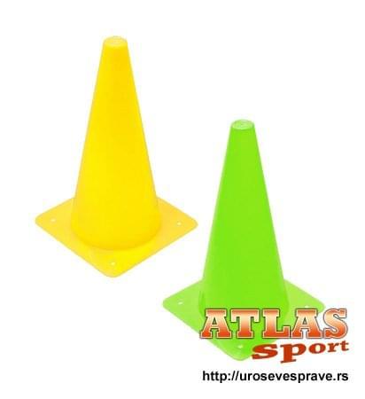 Plastični sportski čunjevi visine 40cm ili 15