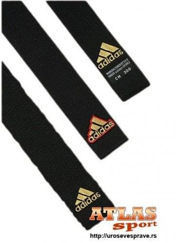 Adidas crni pojas za borilačke sportove