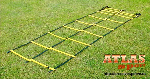 Duple merdevine za vežbanje dužine 4m