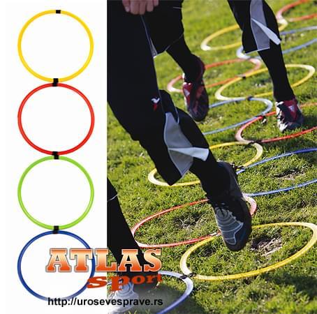 Prstenovi za vežbanje(set) - obruči za povećanje agilnosti - 11 prstenova