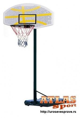 Stub za košarku sa košarkaškom tablom i košem