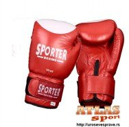 Crveno bele rukavice za boks 10oz - proizvođač Sporter e6e1120e20