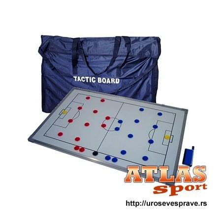 Trenerske table - za definisanje sportske strategije - sa magnetima i markerom