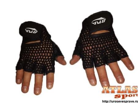 Mrežaste rukavice za teretanu - proizvođač BMA