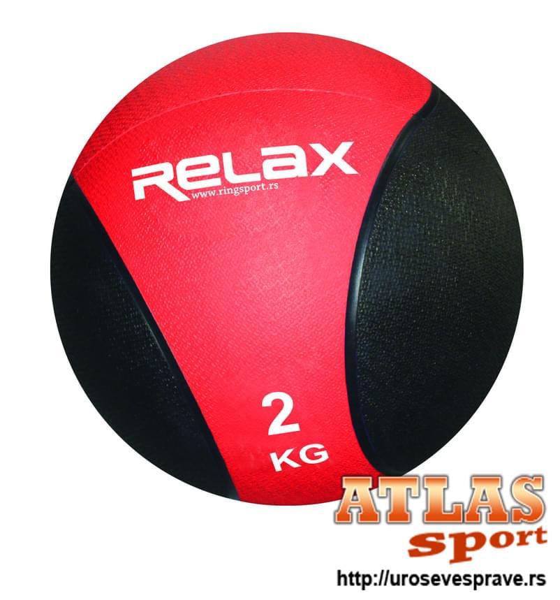 Lopta medicinka - 2kg - proizvođač Relax