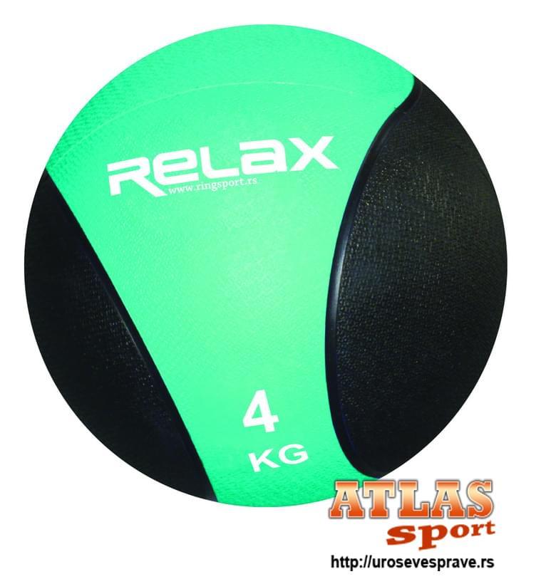 Lopta medicinka - 4kg - proizvođač Relax