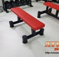 Ravna klupa za teretanu - proizvođač ATLAS sport