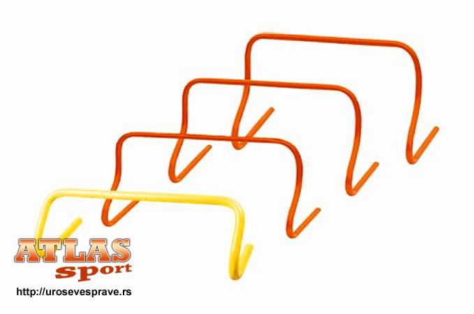 PVC prepone za trening - fiksirane - 15cm visine