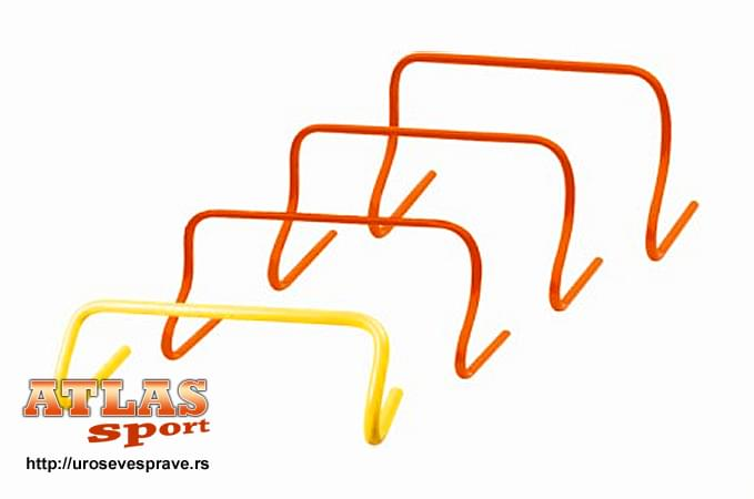 PVC prepone za trening - fiksirane - 30cm visine