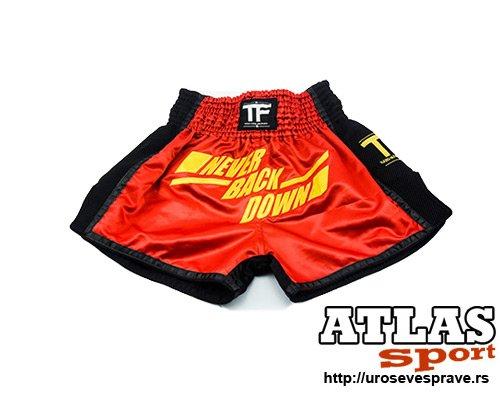 Šorc za kik boks Top Fighter Red
