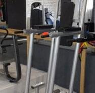 Sprava za zgibove, propadanja, trbušnjake - crni tapacirung - proizvodnja ATLAS sport