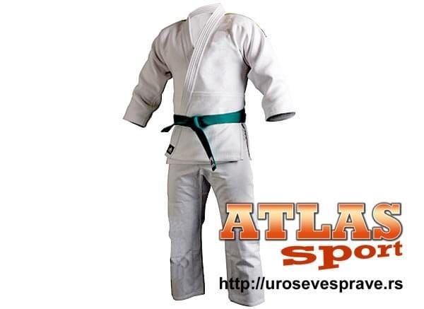 Adidas kimono za trening 500 grama - beli