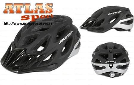 Alpina kaciga za bicikl crna