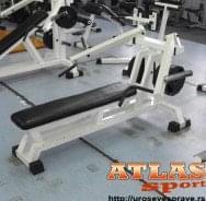Benč pres klupa sa fiksnim ručkama - proizvođač ATLAS sport