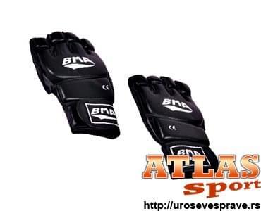Rukavice za MMA - Crne bez prstiju - proizvođač BMA