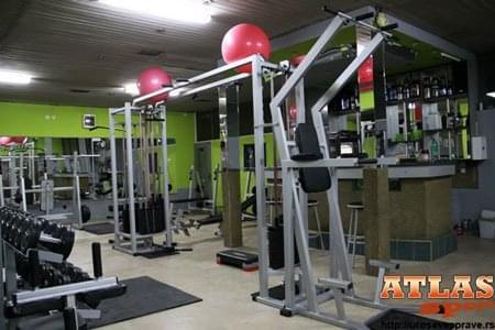 Golijat mašina - proizvodnja ATLAS sport - slika 1