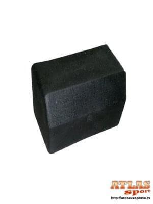 Gumena navlaka za krajeve šipki sprava za teretanu – 80mm x 40mm