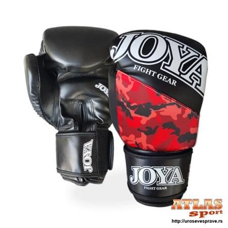 joya rukavice top one camo crvene