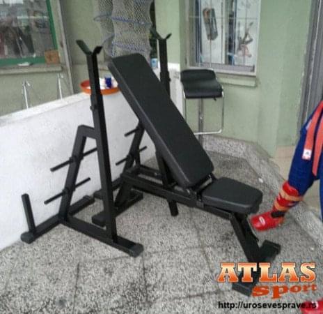 kombinovana benč klupa slika 1 - proizvodnja ATLAS sport