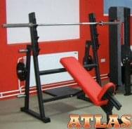 Kosi benč - klupe za vežbanje - proizvođač ATLAS sport