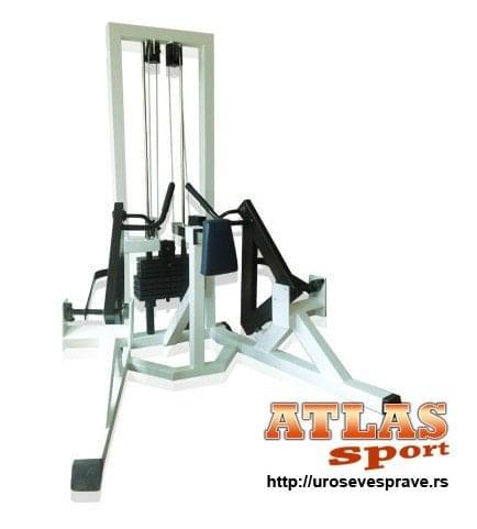 Mašina za razvijanje leđa za osobe sa invaliditetom