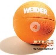 Lopta medicinka - 4kg - proizvođač Weider