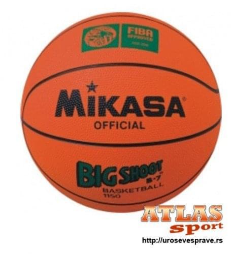 Oficijalna lopta za košarku Mikasa - Big shoot