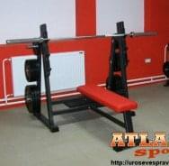 Ravna benč klupa - proizvođač ATLAS sport