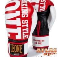 rukavice za boks Explosion red - proizvođač Leone - crveno bele