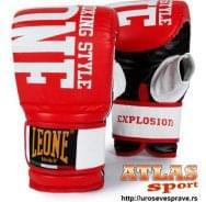 Rukavice za džak Explosion red - proizvođač Leone - crveno bele