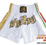 Šorc za kik boks - proizvođač Leone - belo zlatni