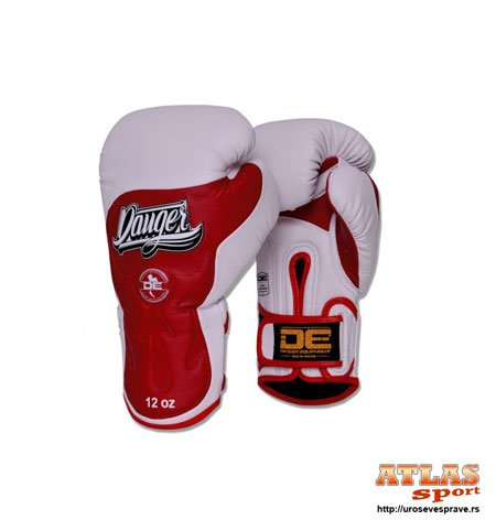 ultimate-fighter-semi-leather-white-red